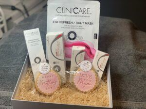 Mother's Day skincare gift box Clinicare Refresh range